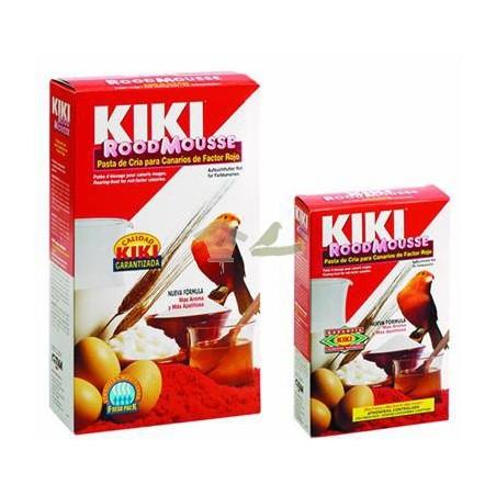 KIKI Pasta de cría y mantenimiento roja con pigmento 1 kg