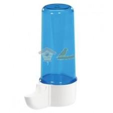 Bebedero pajarera mediano azul