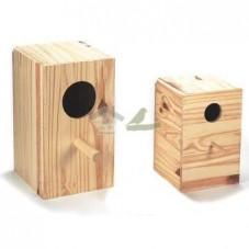 Nido de madera para Ninfa Vertical