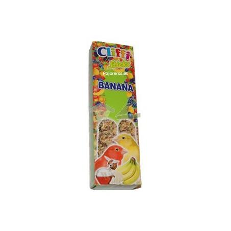 Barrita para Canarios sabor platano y miel