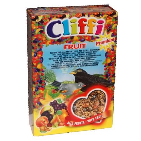 Pasta insectivora con frutas y cereales Cliffi