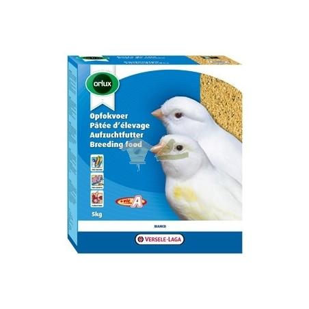 Pasta seca para canarios COLOR BLANCO - ORLUX 5 kg