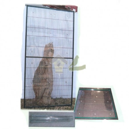 Panel PVC rigido 1 metro (transparente)