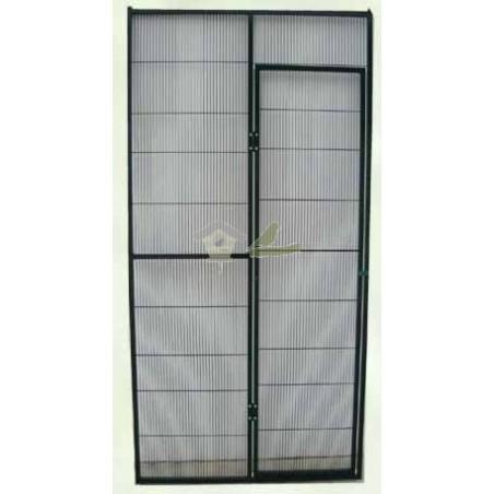 Panel de voladero con puerta