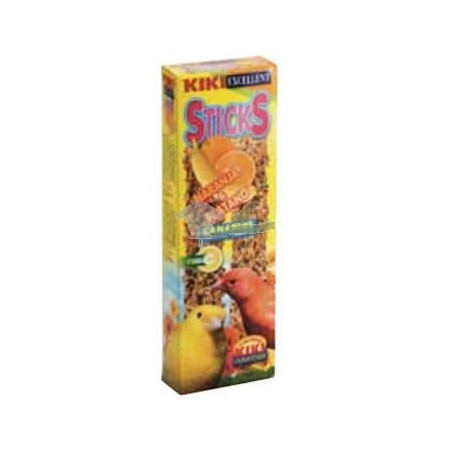 Kiki canarios sabor naranja y platano