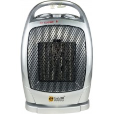 Calefactor de aire caliente de 2 velocidades oscilante.