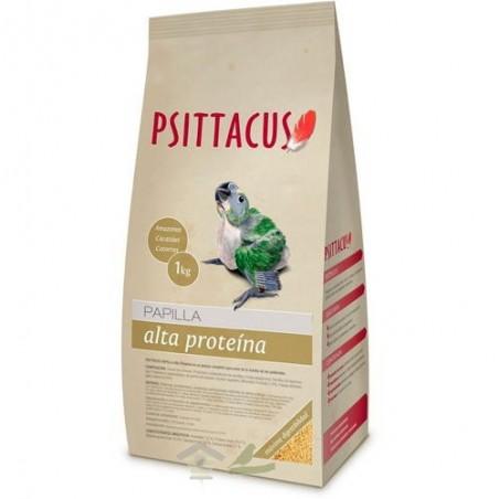 Psittacus Papilla Alta Proteína para aves