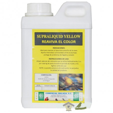 Supraliquid Yellow - Reaviva el color