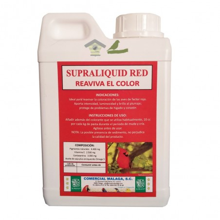 Supraliquid Red - Reaviva el color