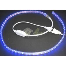 Tira LED luz azul efecto luna 220V