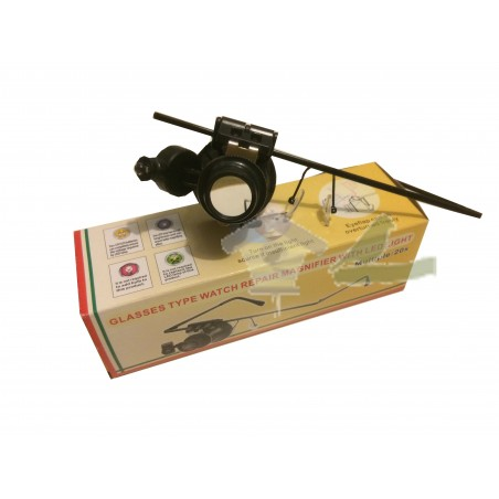 GAFA LUPA MONOCULAR 20X CON LED