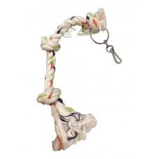 Juguete cuerda 3 nudos