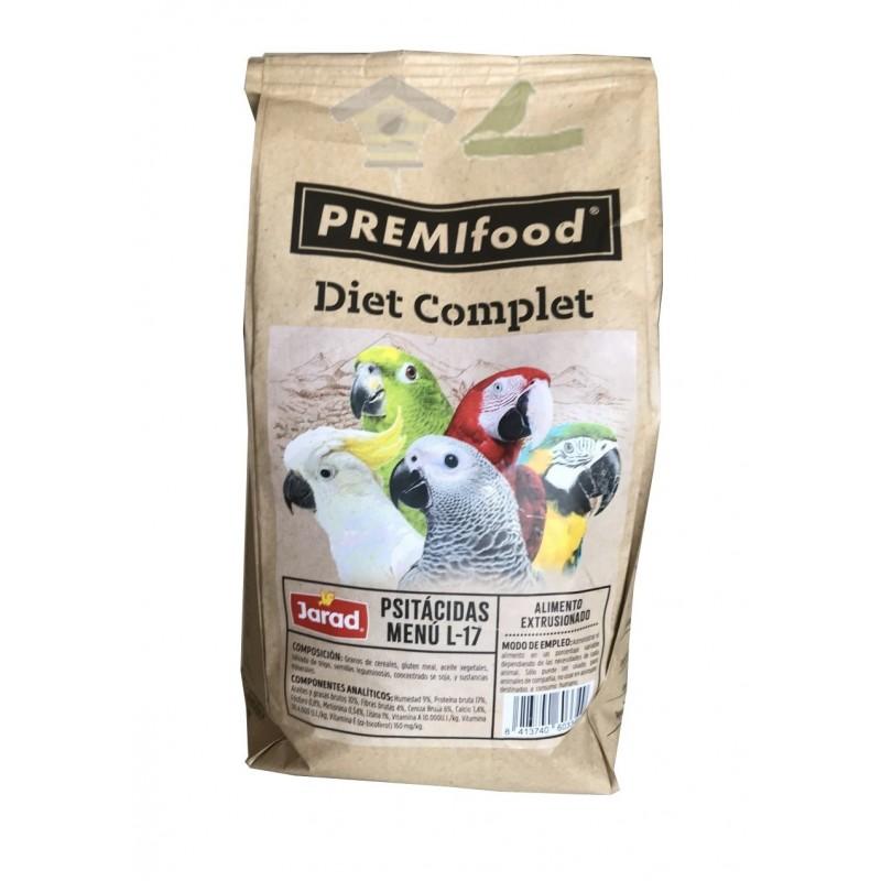 Jarad Diet Complet Psitacidas Menu L-17