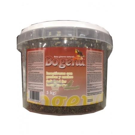 Bogena Pasta de Cria para inesctivoros con gambas y enebro