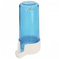 Bebedero tubo corto azul