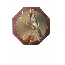 Reloj Jilguero Madera